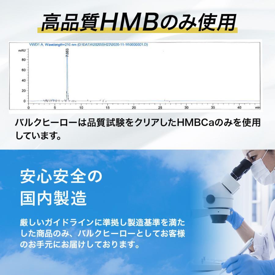 HMB サプリメント バルクヒーロー 高品質HMB90000mg トレーニング 360粒 国内製造 30日 Mr.GINO 送料無料|aequalis|06