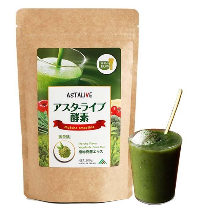 父の日 おいしいっ スムージー 置換え ファスティング ダイエット ドリンク ASTALIVE アスタライブ  酵素 スムージー フルーツミックスベリー味 200g 粉末タイプ|aeshop|21