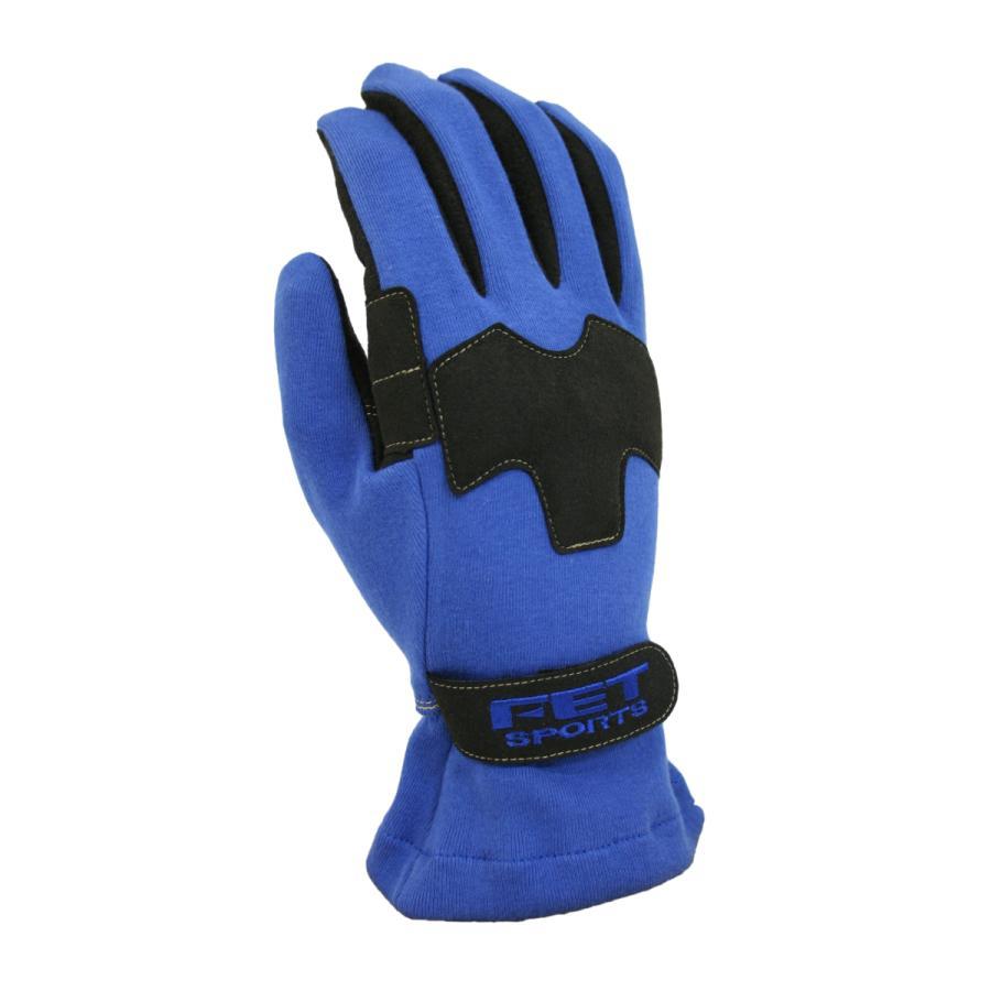 FET sports エフイーティースポーツ 3Dライトウエイトグラブ レーシンググローブ 人気ブランド XLサイズ FT3DLW53 71172553 クリックポスト送料無料 無料 ブルー×ブラック
