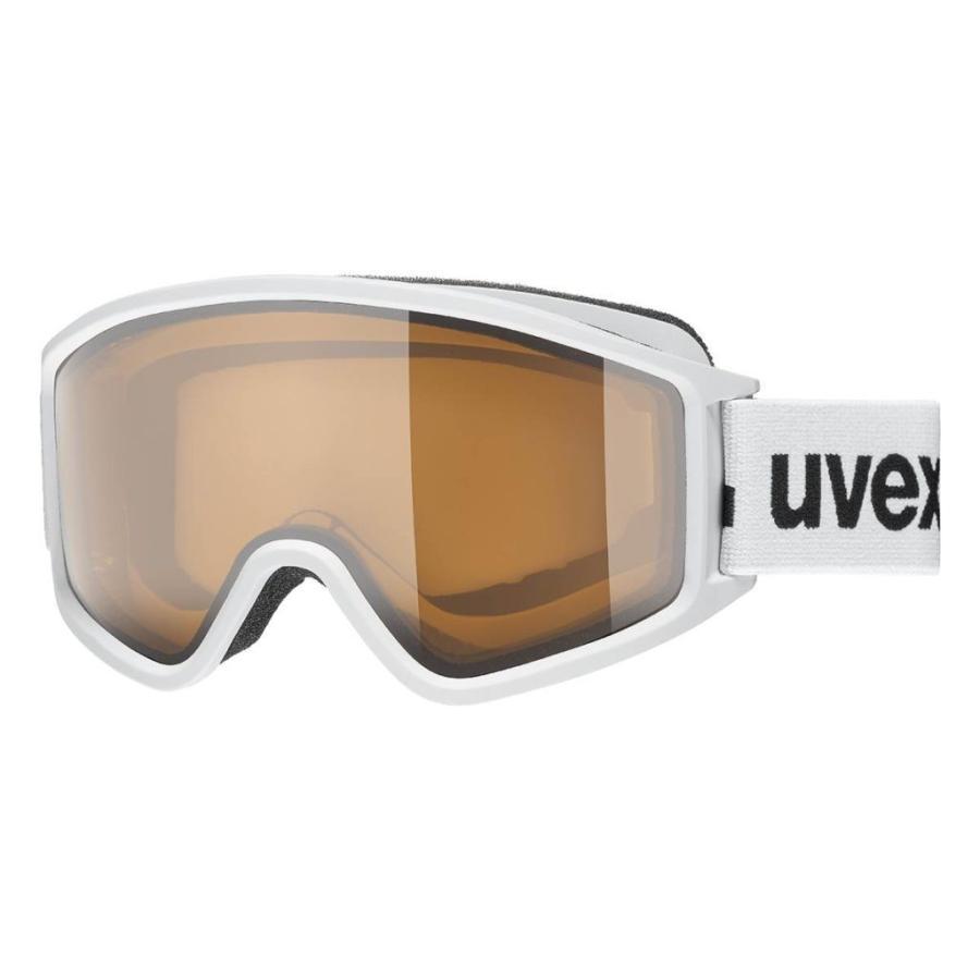 20UVEX g.gl 3000P ホワイトマット ポラヴィジョン/クリア(S1)平面偏光・眼鏡対応