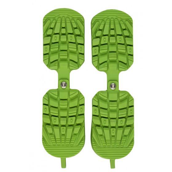 SIDAS スキートラクション グリーン 着後レビューで 全店販売中 送料無料 歩行しやすくなります ブーツのソールガ-ド