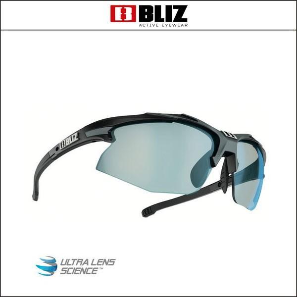 BLIZ ブリス  HYBRID ハイブリッドMatt黒/グレー (褐色青 Lens)