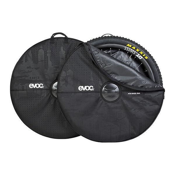 EVOC イーボック  MTB ホイールカバー 2個セット ブラック|agbicycle|02