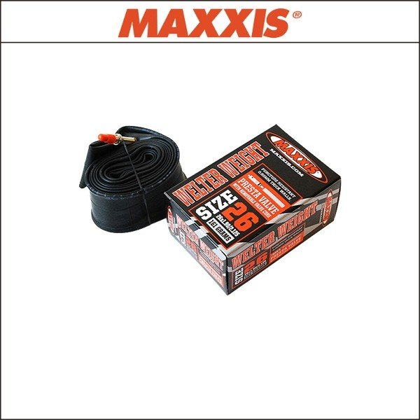MAXXIS マキシス  WELTERWEIGHT TUBE ウェルターウェイト チューブ 26x1.9/2.125 仏48mm2段式 agbicycle