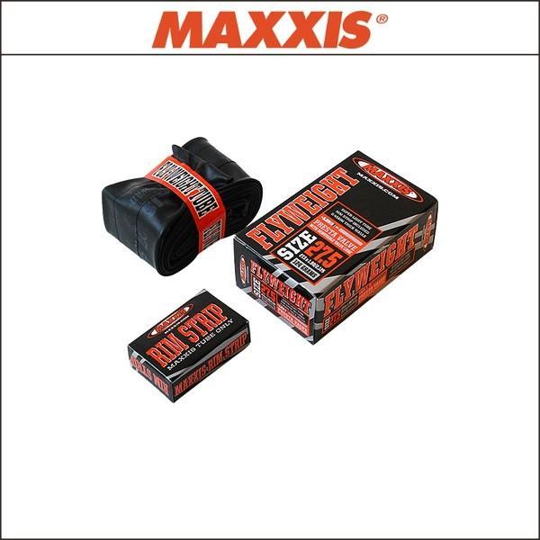 MAXXIS マキシス  FLYWEIGHT TUBE フライウェイト チューブ 700x18/25C 仏60mm2段式|agbicycle