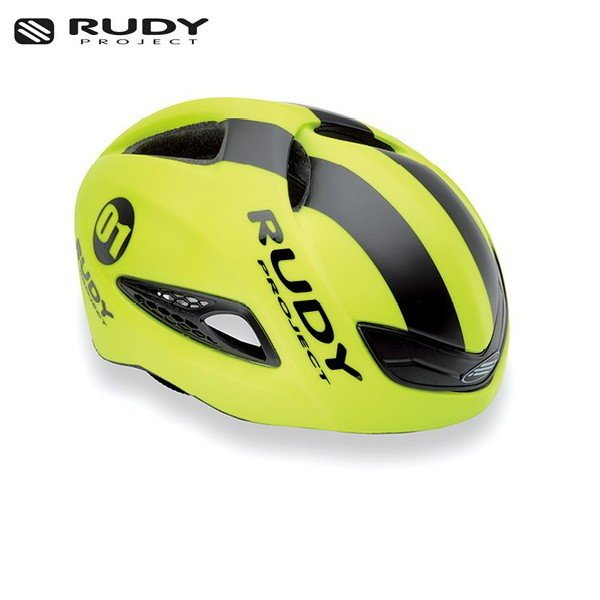 RUDY PROJECT/ルディプロジェクト BOOST 01 ブースト 01 イエローフルオ - ブラック (マット) ヘルメット ・日本正規品|agbicycle