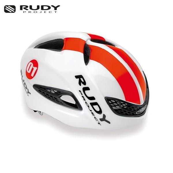 RUDY PROJECT/ルディプロジェクト BOOST 01 ブースト 01 ホワイト - レッドフルオ (シャイニー) ヘルメット ・日本正規品 agbicycle