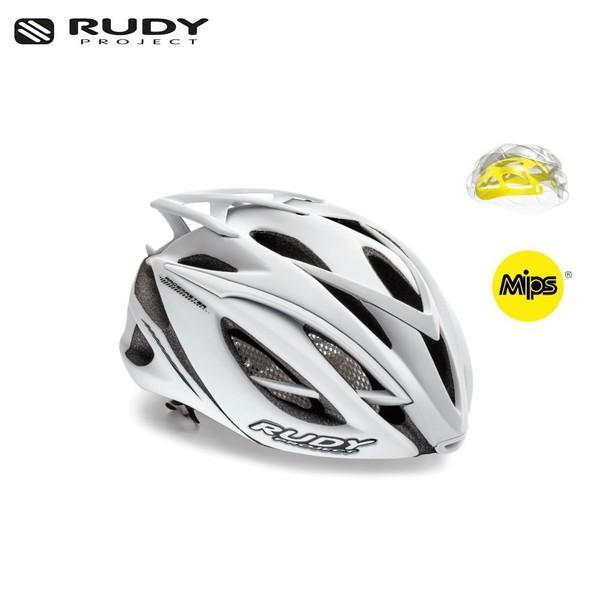 RUDY PROJECT/ルディプロジェクト RACEMASTER レースマスター MIPS ミップス ホワイトステルス (マット) ヘルメット ・日本正規品 agbicycle