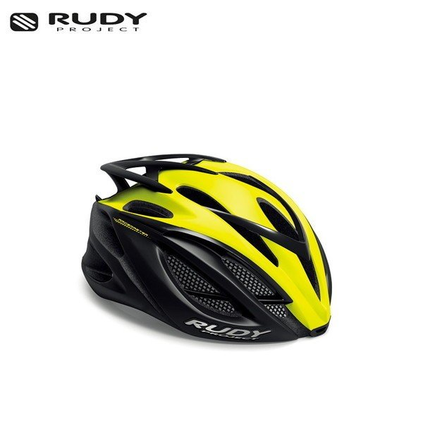 RUDY PROJECT/ルディプロジェクト RACEMASTER レースマスター イエローフルオ-ブラック (マット) ヘルメット ・日本正規品 agbicycle