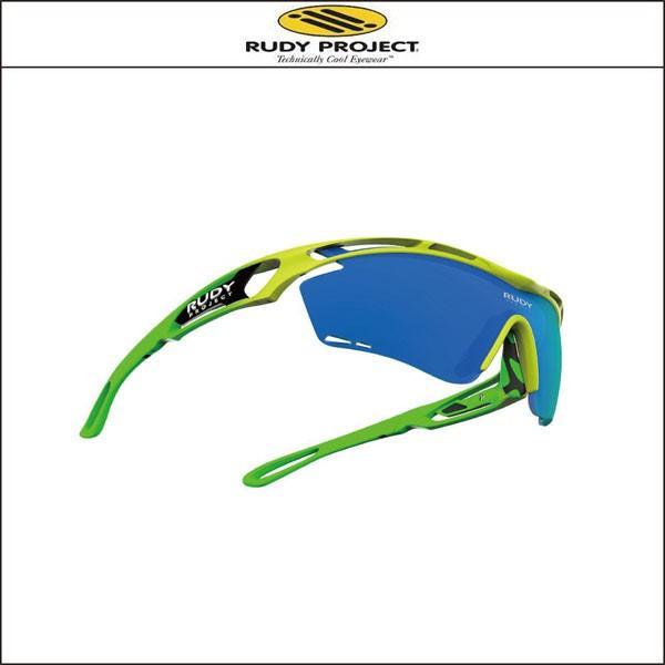 RUDY PROJECT/ルディプロジェクト  RUDY PROJECT/ルディプロジェクト フルオモデル イエロー/グリーンフルオフレーム マルチレーザーブルーレンズ|agbicycle