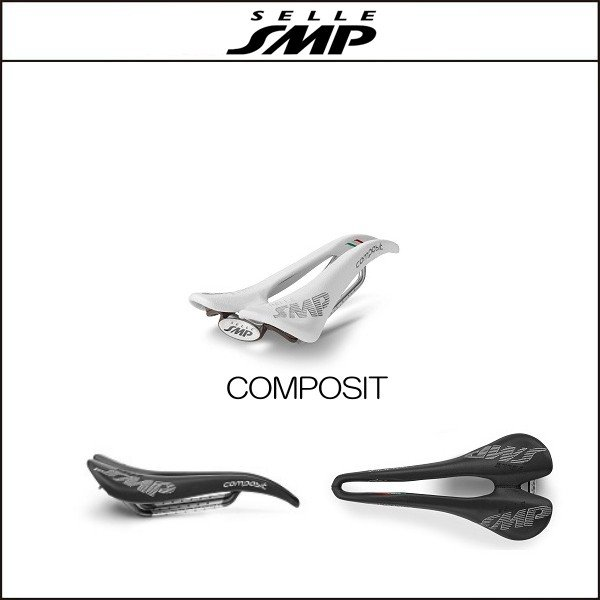 サドル SELLE SMP セラSMP コンポジット COMPOSIT WHITE|agbicycle