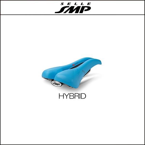サドル SELLE SMP セラSMP ハイブリッド HYBRID LIGHT BLUE agbicycle