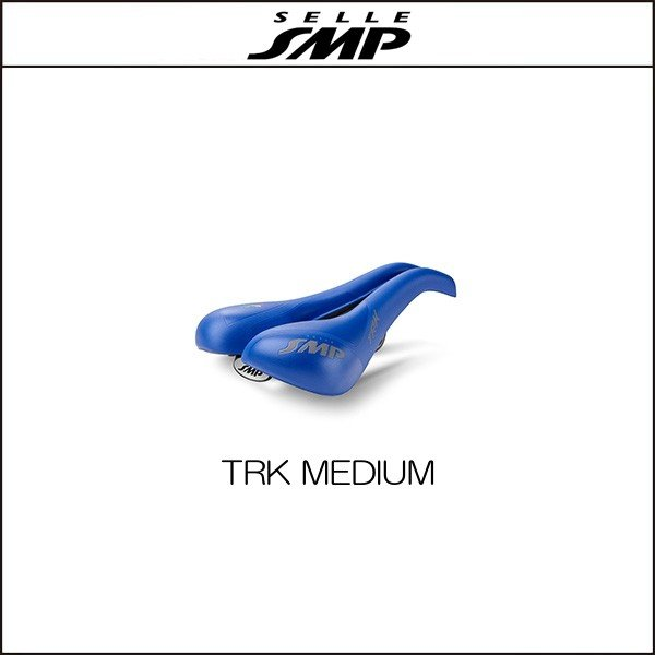 サドル SELLE SMP セラSMP ティーアールケイ ミディアム TRK MEDIUM BLUE|agbicycle