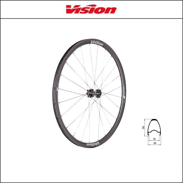 Vision(ビジョン) TRIMAX 30 DISC トライマックス30 DISC  クリンチャー gray SH11 A9 agbicycle