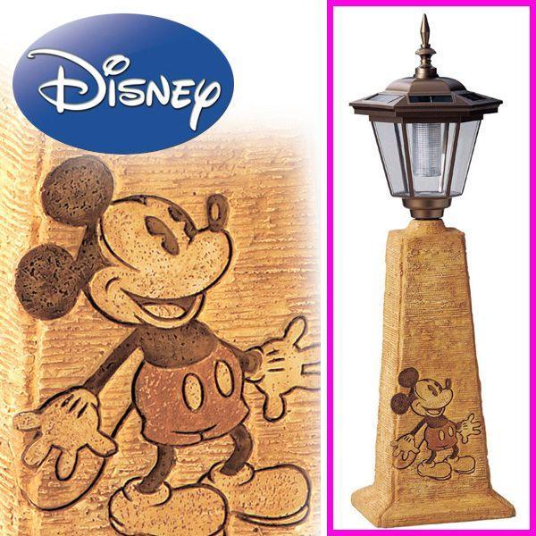 完売致しました。 ソーラーライト ミッキー 大 ( ディズニー ミッキーマウス 充電式 ガーデンライト LED 照明 SD-2133)