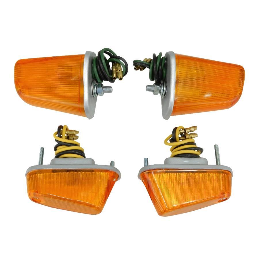 ウインカー スーパーカブ C100 C102 C105 限定品 オレンジ セット リア フロント バースデー 記念日 ギフト 贈物 お勧め 通販