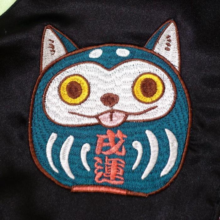 わっしょいワンダフル刺繍スカジャン ごちゃふるワールド × SwitchPlanning Japanesque   ジャパネスク  メンズ レディース  GFSJ-003|agogo55|03