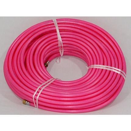 十川ゴム (ピンク透明)8.5mm×50mスプレーホース(両端ISOホース金具付き)(切替ジョイントセット付き)