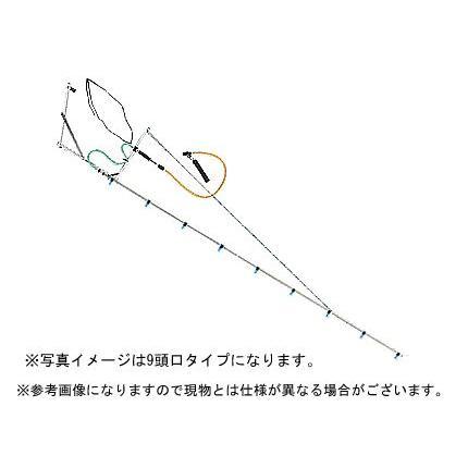 ヤマホ 片持ブームG型8頭口ラウンド25タイプ(G1/4)(噴霧器 噴霧機 動噴 防除 ノズル 噴口)