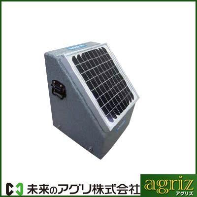 未来のアグリ(北原電牧) 電気柵 本体 ソーラービビット2000型ニューセンサー(バッテリー付) (代引不可)