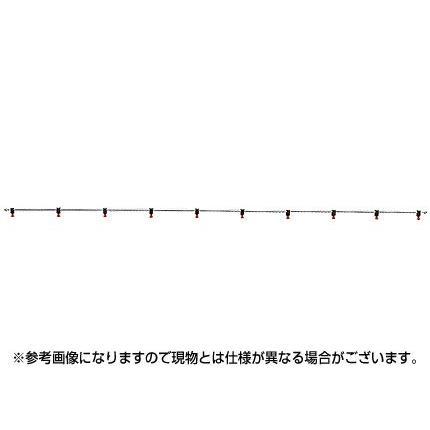 ヤマホ ブーム用ステン噴管ノズルS15型10頭口(G1/4)(噴霧器 噴霧機 動噴 防除 噴口 ノズル)