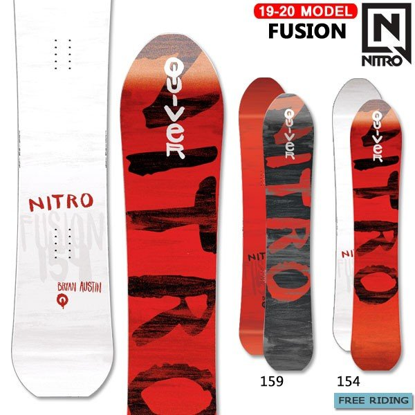 大好き スノーボード 板 19-20 ナイトロ NITRO FUSION ナイトロ フュージョン スノーボード フリーライド フリーライド パウダー カービング 19-20-BO-NTR, チクサチョウ:4b8802c8 --- airmodconsu.dominiotemporario.com