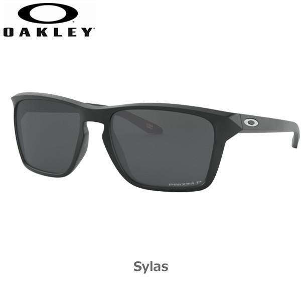 オークリー 偏光 サングラス サイラス カジュアル OAKLEY SYLAS フレーム Matte 黒 レンズ Prizm 黒 Polarized あすつく