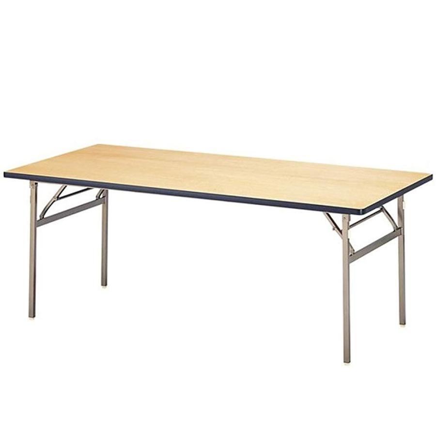 AHEART 宴会テーブル 折りたたみ 会議 オフィス 結婚式場 レセプション 長机 SI 583 W180×D60cm
