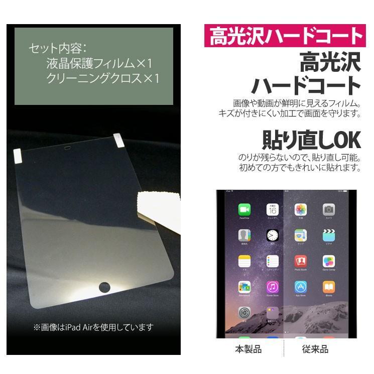 送料無料 iPad mini2 iPad mini3 アイパッド 液晶保護 シート フィルム 画面 光沢ハードコート 指紋・反射防止 傷がつきにくい AIF-IPM ai-en 03