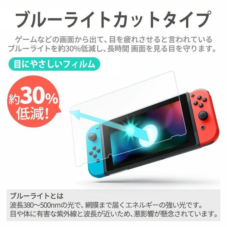 送料無料 Nintendo Switch Lite 液晶保護フィルム ブルーライトカット フィルム シート シール 任天堂 ニンテンドー スイッチ ライト AIF-SWITCH|ai-en|03