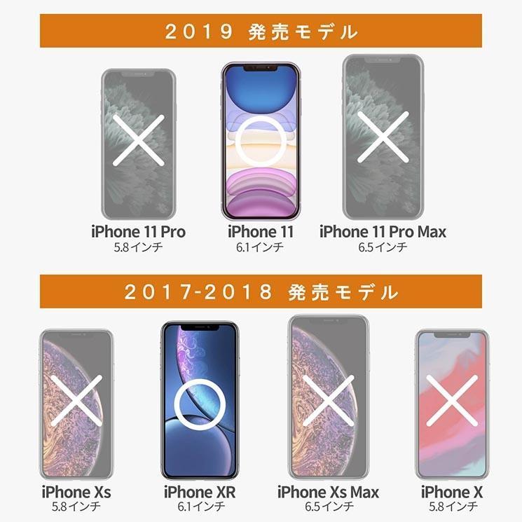 エレコム iPhone11 フルカバーガラスフィルム ブラック 指紋防止 フレーム付 セラミックコート 飛散防止 PM-A19CFLGFCRBK|ai-en|02