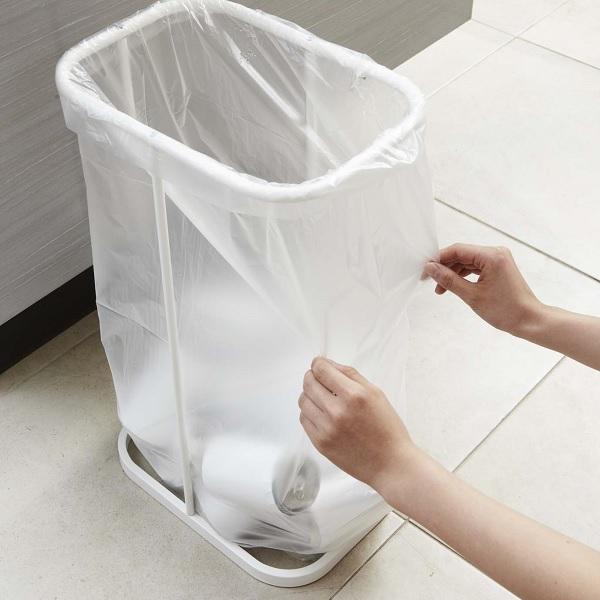 分別 ゴミ箱 ごみ箱 ダストボックス キッチン スリム ふた付き ゴミ袋ホルダー 45l 40l 分別 分別ゴミ袋ホルダー ルーチェ 2個セット|aifa|04