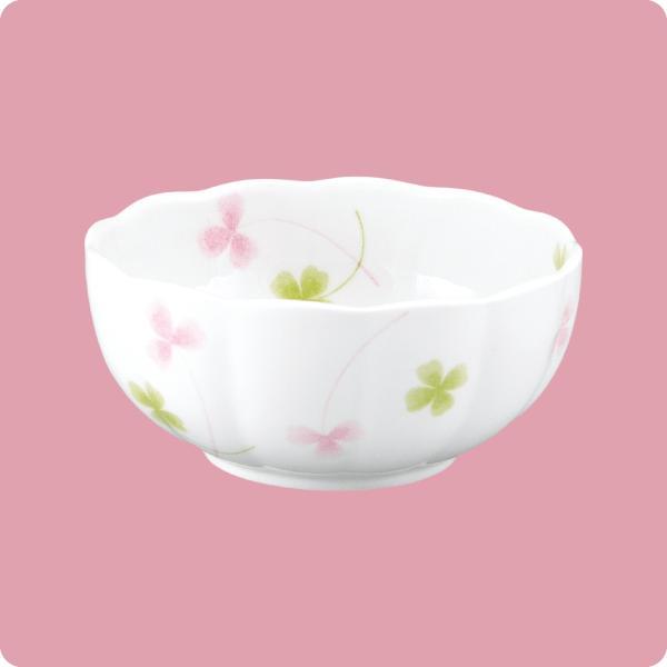 ニ・105 11cm手まり鉢(ハッピークローバー) aigineo