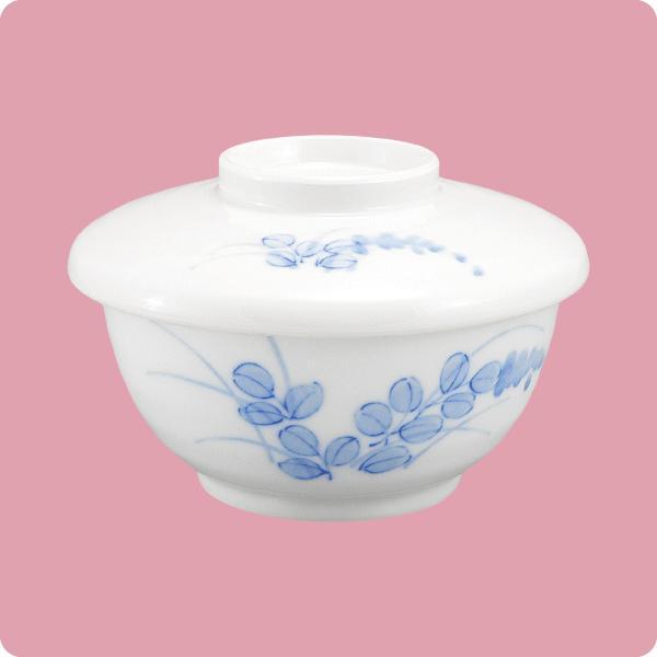 酢物碗(蓋付)(萩) aigineo