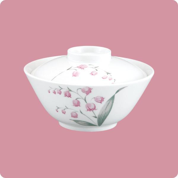 ニ・57 ニ・58 丸小鉢(蓋付)(スズラン)|aigineo