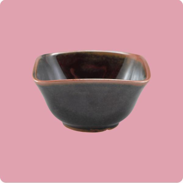 ニKS・128 角小鉢 特小(栗しぐれ)|aigineo