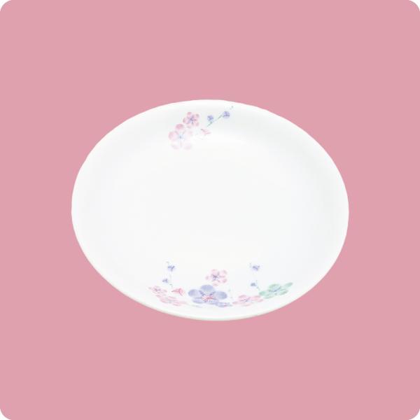 ニ・92 13cm和皿(3色梅) aigineo