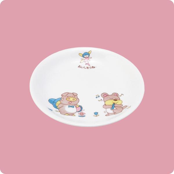ニ・92 13cm和皿(幼児柄)|aigineo
