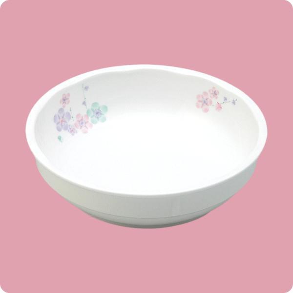 ニ・129 15cm中鉢(3色梅) aigineo