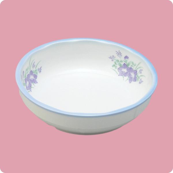 ニ・129 15cm中鉢(キキョウ・ブルー巻) aigineo