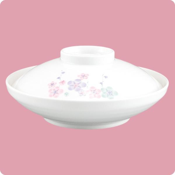 ニ・62 ニ・63 煮物碗 浅型(蓋付)(3色梅)|aigineo