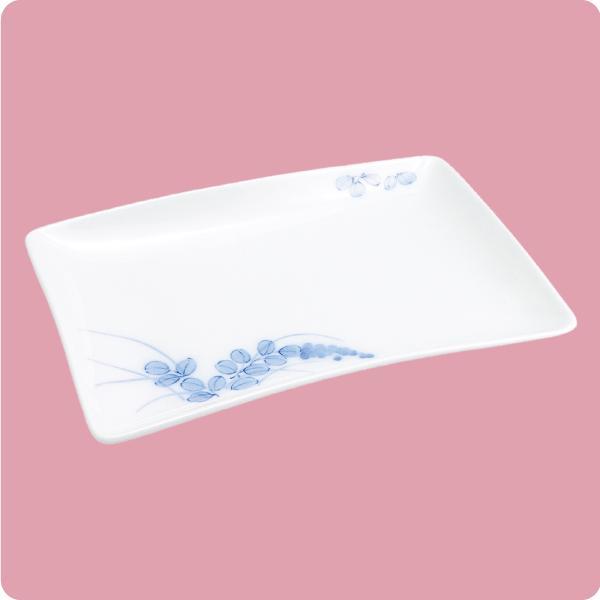 ニ・72 20cm焼物皿(萩・天白)|aigineo