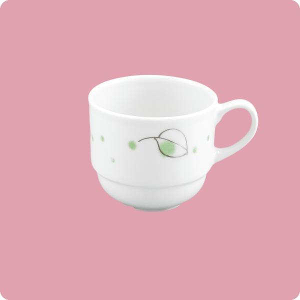 ニ・48 コーヒー碗(グリンなごみ) aigineo