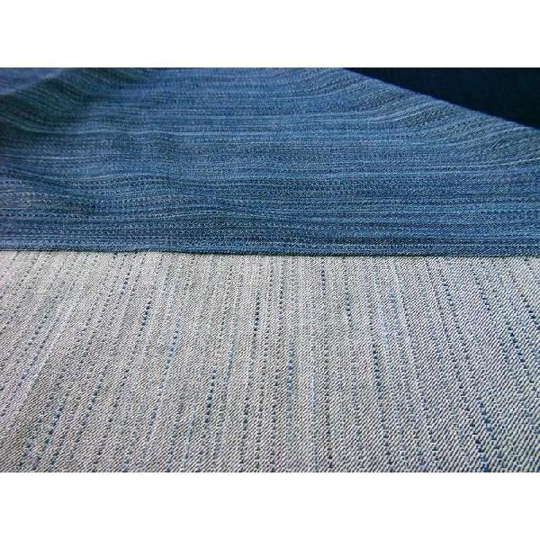 藍染雨絣スラブ綾刺子(AM22805027) aiira-ensyu 04