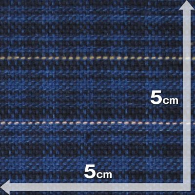 藍染変わりギンガム(CH20226111) aiira-ensyu 03