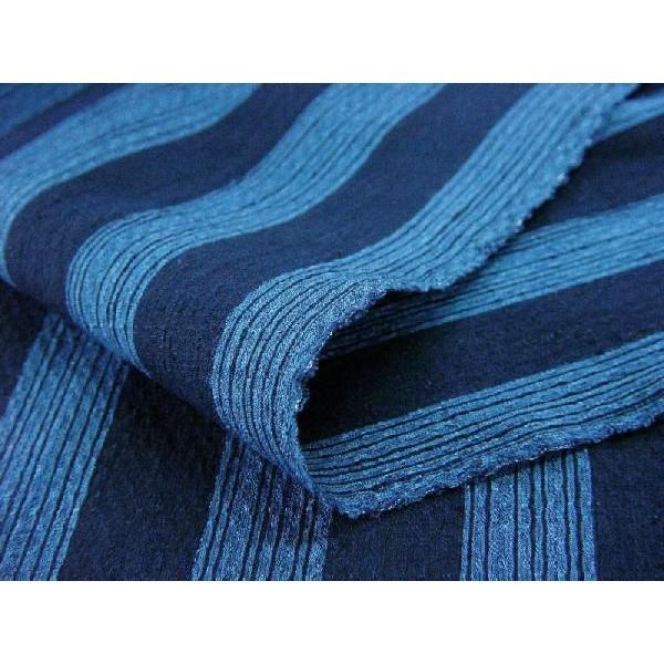 藍染太縞刺子 2(FJ16108044)|aiira-ensyu|04