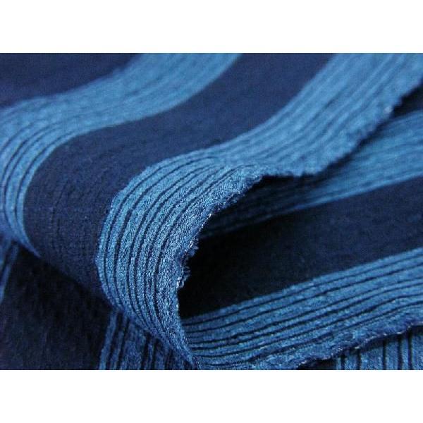 藍染太縞刺子 2(FJ16108044)|aiira-ensyu|06