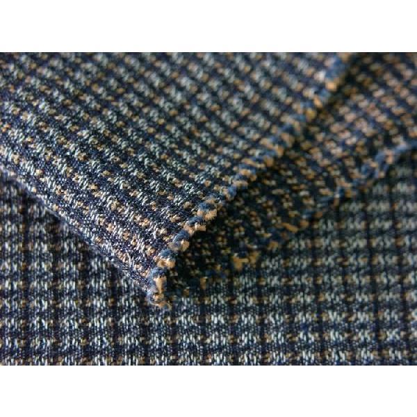 藍染茶十字柄(JB20207101)|aiira-ensyu|02