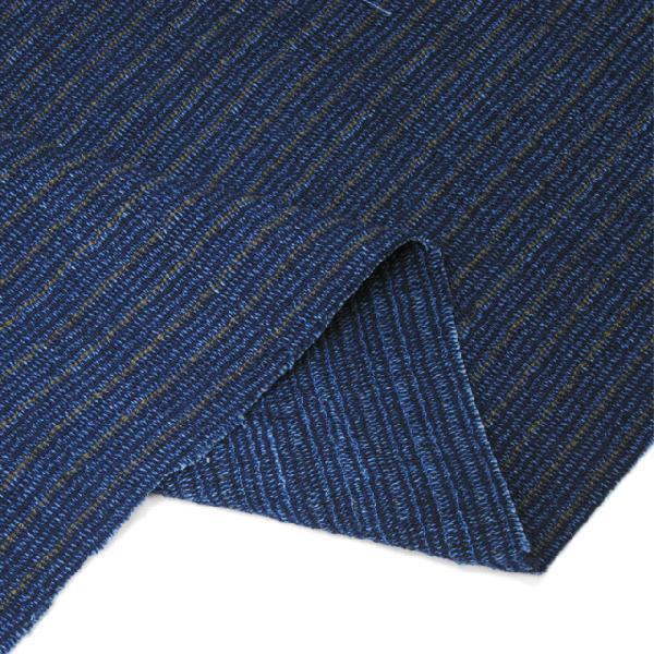 藍染切替茶縮み(KR16223110) aiira-ensyu