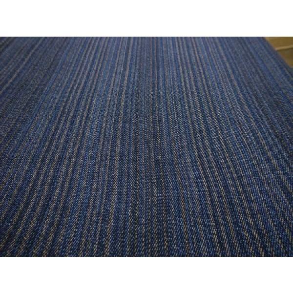 藍染茶藍柄撚(KW24207060)|aiira-ensyu|03